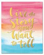 Studio Oh! Live The Story You Want To Tell Aquarelle Collection Art Print