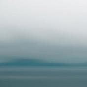 nexxt Shutter Nature Blurs Canvas Prints, Blue Blur 1, 30cm by 30cm