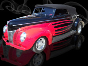Laila's 40 Ford by Lisa Aitken 182 by 16, 5.1cm Gallery Wrap