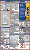 Osha4less Wisconsin All-in-One Labour Law Posters Spanish