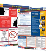 Osha4less Labour Law Poster - State and Federal, Kansas