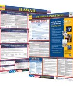 Osha4less Labour Law Poster - State and Federal, Hawaii