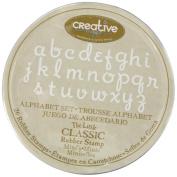 Hampton Art Little Classic Mini, Wood Rubber Stamp