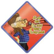 WL SS-WL-12765 Long Hair Grandpa I'm Achy Breaky Everywhere Wall Sign, 20cm by 20cm