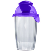 Compac Salad Blaster Salad On The Go Cup With Dressing Container, 770ml Purple