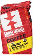 Equal Exchange Organic Coffee, Mind Body Soul, Ground, 350ml Bag