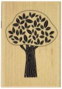 Hampton Art Terrific Tree Wood Rubber Stamp