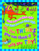 Eureka Dr. Seuss Think Left Think Right Poster
