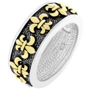 Antique Fleur De Lis Ring - Size 5