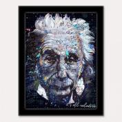 3D Art Einstein 3D Framed Art, 27cm by 34cm