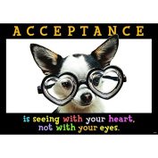 """Trend Enterprises """"Acceptance Is Seeing With"""" Poster"""