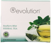 Revolution Tea Southern Mint Herbal Tea, 30 Count