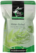 Special Tea Winter Festival Loose Leaf Black and Green Tea, 240ml
