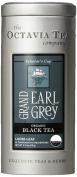 Octavia Tea Grand Earl Grey (Organic Black Tea) Loose Tea, 80ml Tins