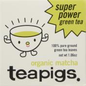 teapigs Organic Matcha Tea Tin, 30 Gramme