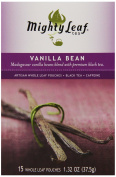 Mighty Leaf Tea Vanilla Bean, 40ml Whole Leaf Pouch, 15 Count