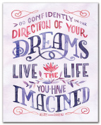 Studio Oh! Art Print, Live the Life You Have Imagined