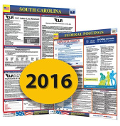 Osha4less Labour Law Poster - State and Federal, South Carolina