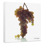 Somerset Fine Art NY Seedless Grapes Photograph by David Wagner, Gallery Wrapped on 5.1cm Bars, 30cm by 30cm