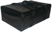 TCB Insulated Bags DST-Black Insulated Catering Bag for Full Size Steam Table Pan, 41cm x 60cm x 23cm , Black