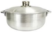 Wee's Beyond 6632-07 Heavy Gauge Caldero Dutch Oven with Aluminium Lid, 4.5l, Silver