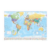 World Map Poster (36 x 24)