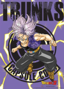 Great Eastern Dragon Ball Z Trunks Fabric Poster