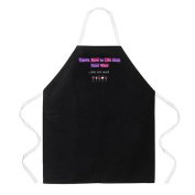 Attitude Apron Good Wine Apron, Black, One Size Fits Most
