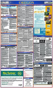 Osha4less Oregon All-in-One Labour Law Posters Spanish