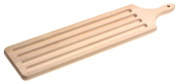 Snow River Walnut Baguette Board with Crumber, 5 by 60cm by 1.9cm