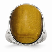 Jewellery Best Seller Stainless Steel Tiger's Eye Size 7 Ring