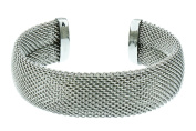 S.Michael Designs Stainless Steel Mesh Cuff