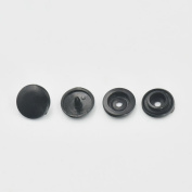 "Size 24 15mm 5/8"" KAM Snap Button Present Plastic Craft Press for Cloth Nappies Rapid Rivet Stud 100 Sets"