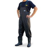 Lineaeffe PVC Chest Wader black