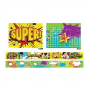 Teacher Created Resources Positive Pop Art Xtreme Double-Sided Border