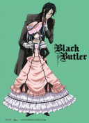 Great Eastern GE77599 Black Butler Sebastian and Ciel 70cm x 110cm Fabric Poster