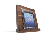 John Boos I Block Walnut Wood Cutting Board and Tablet Stand