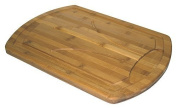 Simply Bamboo Carving, Chopping, & Serving Board with Juice Grooves