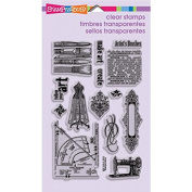 Stampendous Perfectly Clear Stamp, Charmed Art