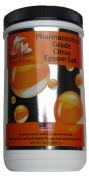 White Egret Pharmaceutical Grade Bath Epsom Salt, Citrus, 890ml
