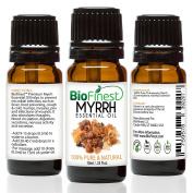 BioFinest Myrrh Oil - 100% Pure Myrrh Essential Oil - Premium Organic - Therapeutic Grade - Best For Aromatherapy - Boost Immune System - Heal Wound - . 10ml)