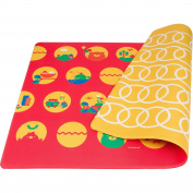 Lollaland Play Mat, Bold Red