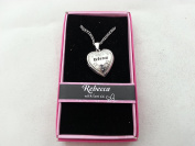 Hallmark Love Locket Necklace with 41cm - 46cm Adjustable Chain - Rebecca