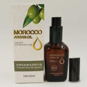 YokPollar Moroccan Argan Oil 100% Pure & USDA Organic For Hair, Skin & Nails, 50ML