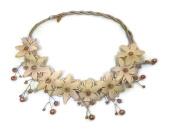 Vintage Lace Pearl Flower Headband :VT2