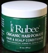 Rubee Organic Hair Pomade, Hair & Scalp Conditioner 470ml