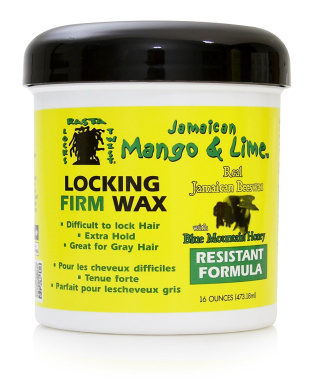 Jamaican Mango and Lime Locking Firm Wax, 470ml (Pack of 6)