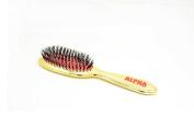 Alpha New York Gold Extension Detangler Brush, Small