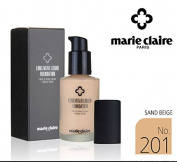 [Marie Claire] Long Wear Liquid Foundation SPF31 PA ++ 30ml / NO.201 Sand Beige / whitening, wrinkles / Korean Cosmetics