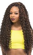 Bahamas Curl 60cm Braid (4 Medium Brown) - Outre X-Pression Synthetic Crochet Braiding Hair